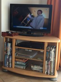 TV et lecteur DVD